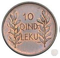 10 QINDAR LEKU 1926 (Roma)