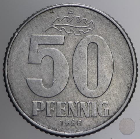 50 PFENNIG III tipo 1968 (Berlin)