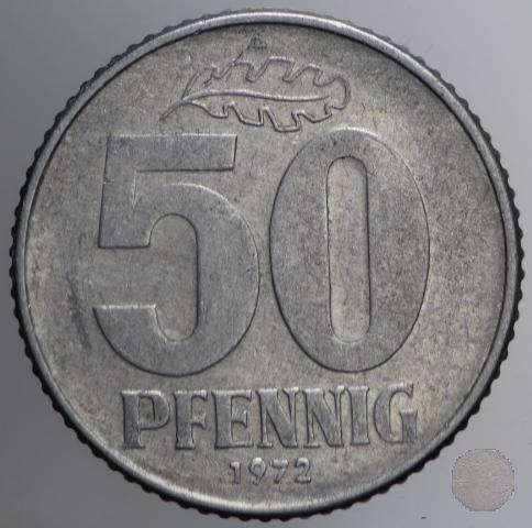 50 PFENNIG III tipo 1972 (Berlin)