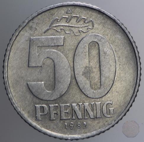 50 PFENNIG III tipo 1982 (Berlin)
