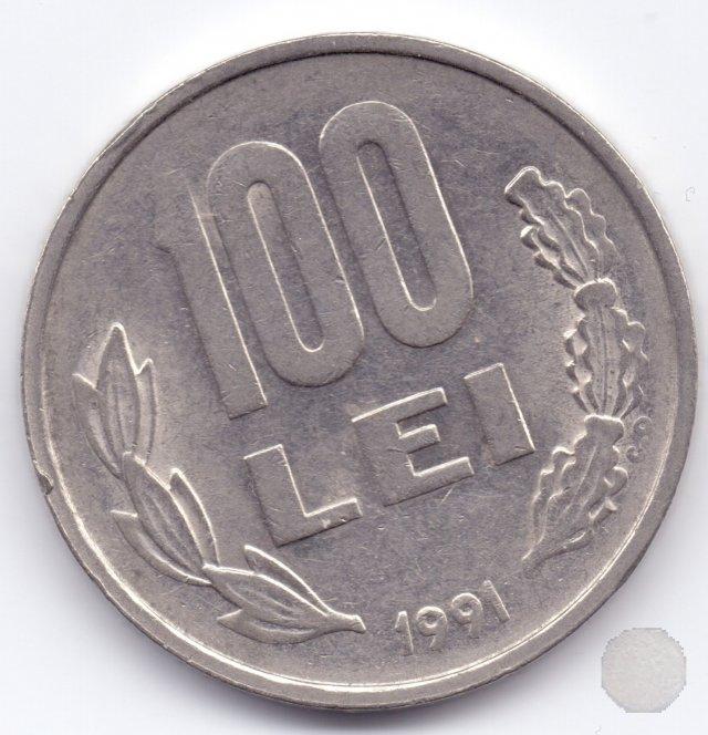 100 Lei 1991 (Bucuresti)
