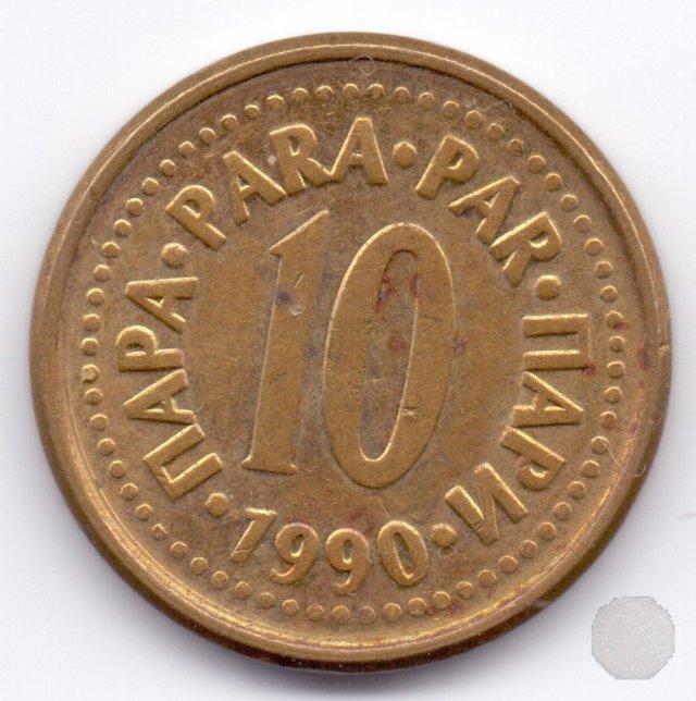 10 para II tipo 1990