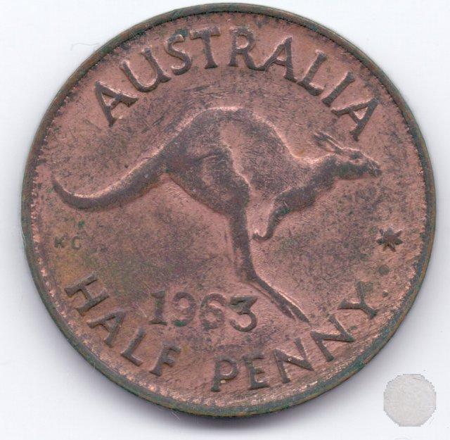 1/2 PENNY 1963 (Perth)
