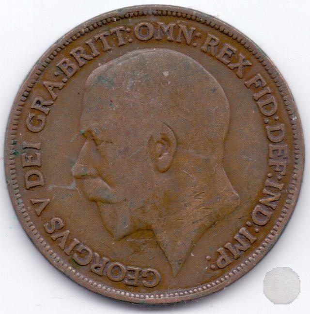 1 PENNY I TIPO 1915 (Londra)