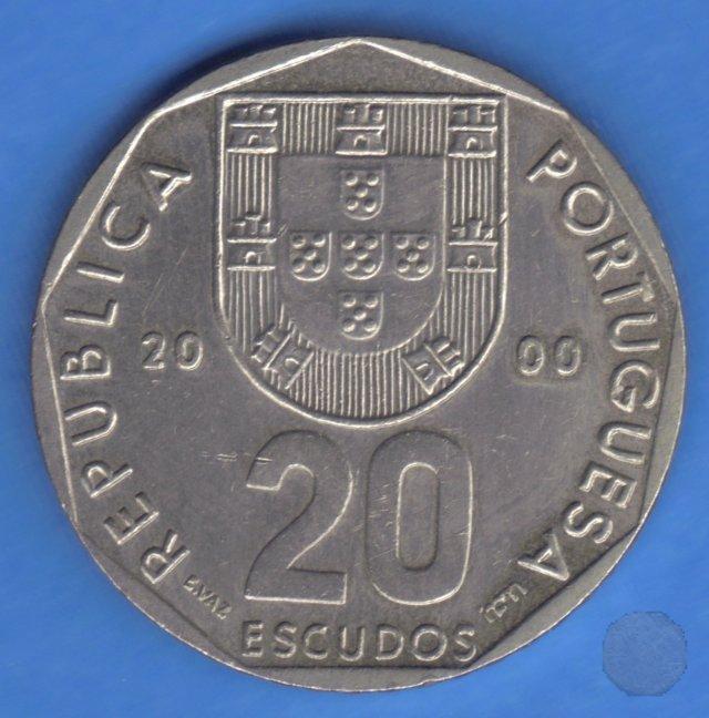 20 ESCUDOS 2000 (Lisbon)