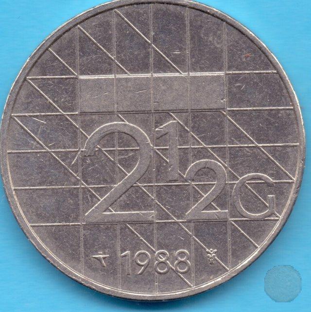 2-1/2 GULDEN 1988 (Utrecht)