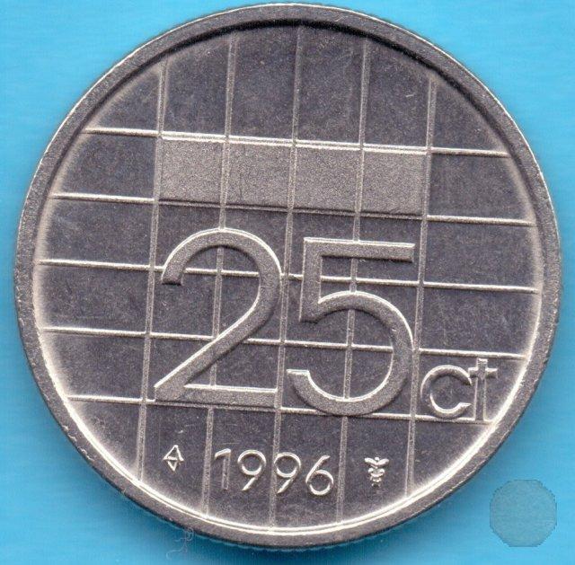 25 CENTS 1996 (Utrecht)