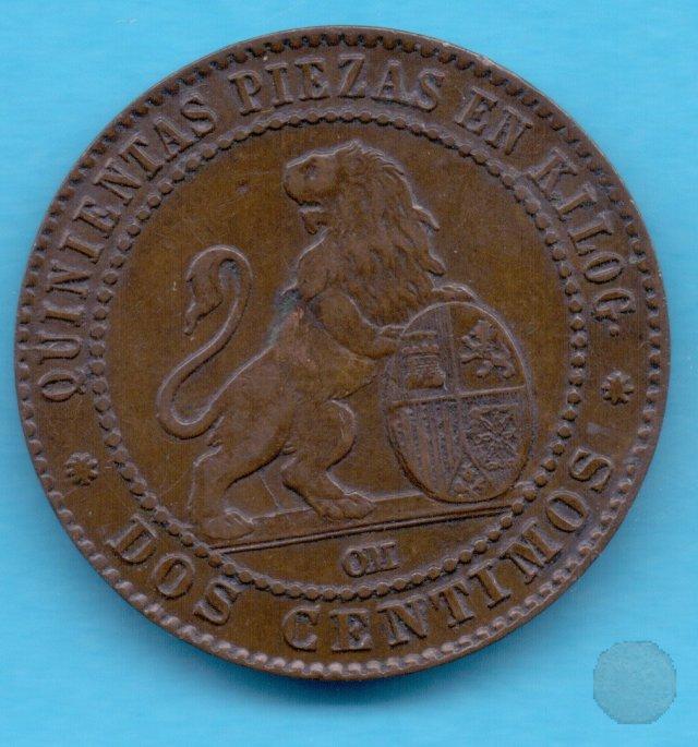 2 CENTIMOS 1870 (Barcelona)