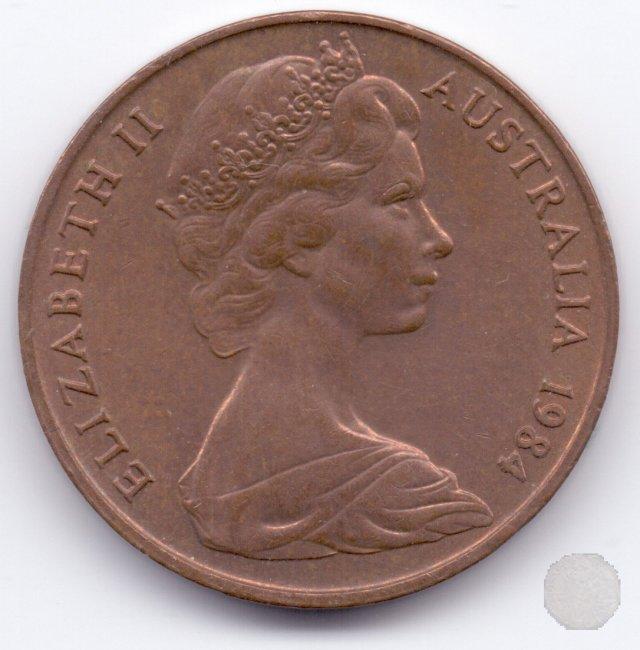2 CENTS I tipo 1984 (Sydney)