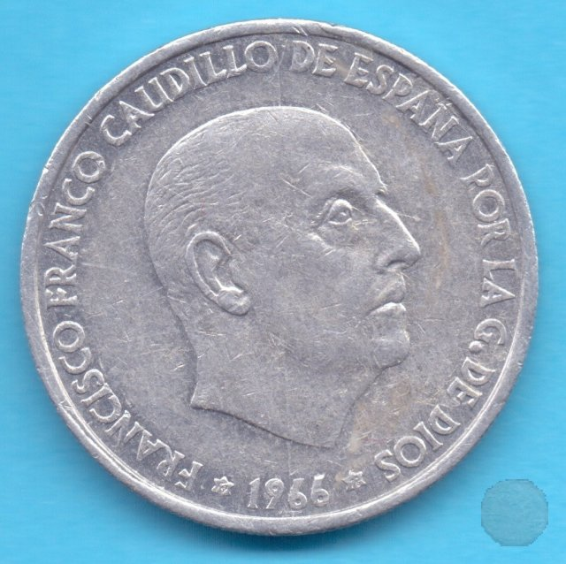 50 CENTIMOS 1966 (Madrid)