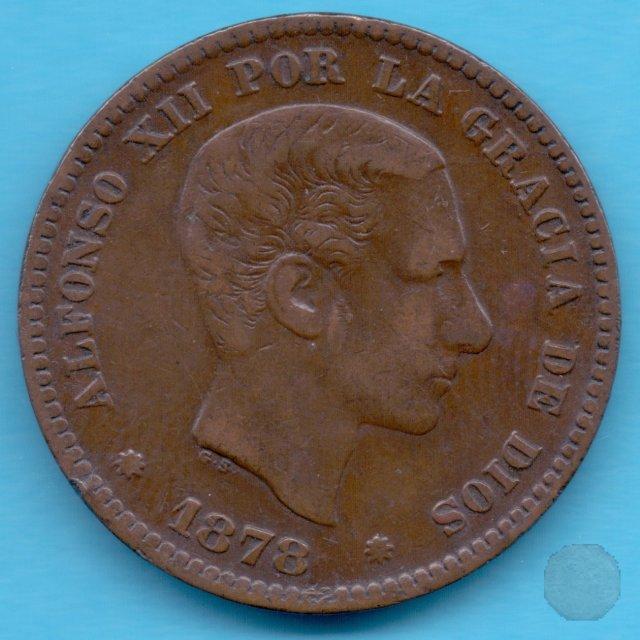 5 CENTIMOS 1878 (Barcelona)