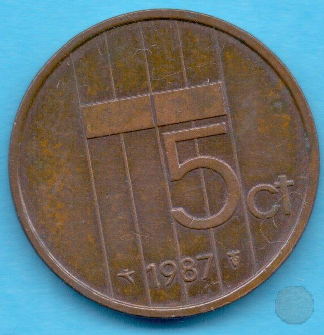 5 CENTS 1987 (Utrecht)