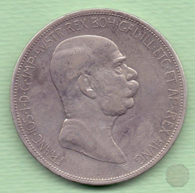5 CORONA II tipo 1908 (Vienna)